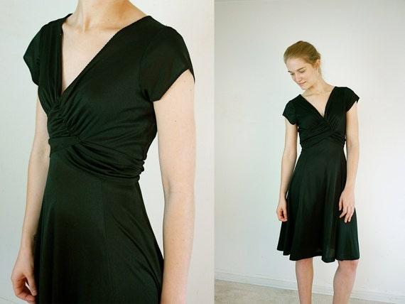 Black Dress / 1970s Disco Dress