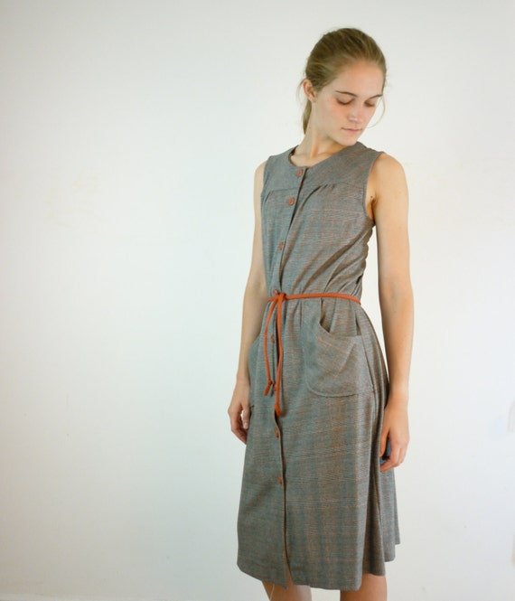 Vintage Dress / 1970s Day Dress