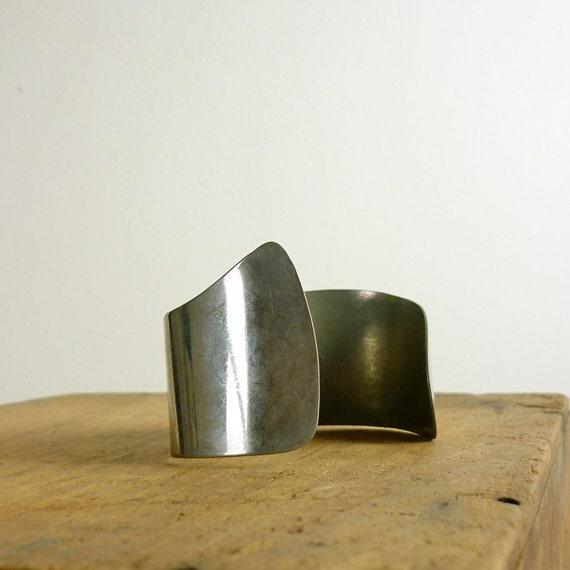 Silver Cuff - Bohemian Silver Bracelet