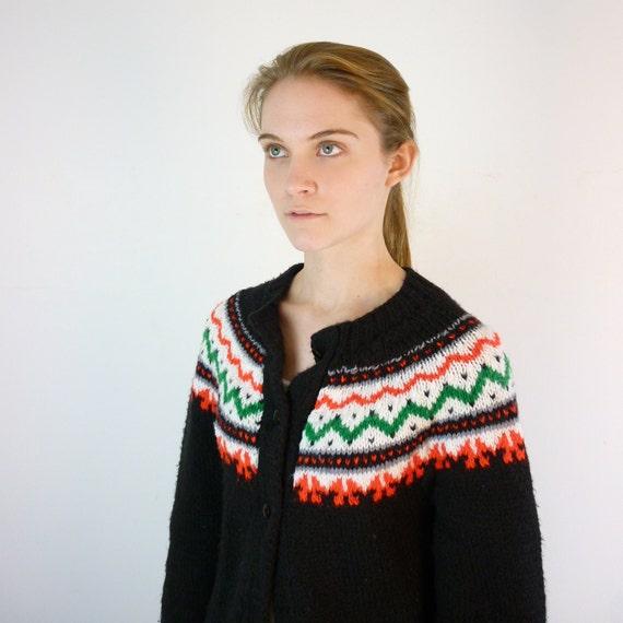 Ski Lodge Sweater / Nordic Cardigan