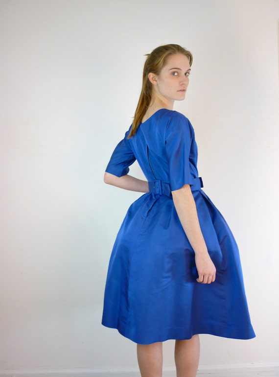 Vintage 1950s Dress / 50s Cocktail Party Dress