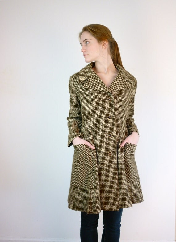 1960s Coat - 60s Tweed Jacket