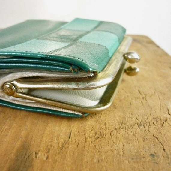 Princess Gardner Wallet - Vintage Leather Wallet