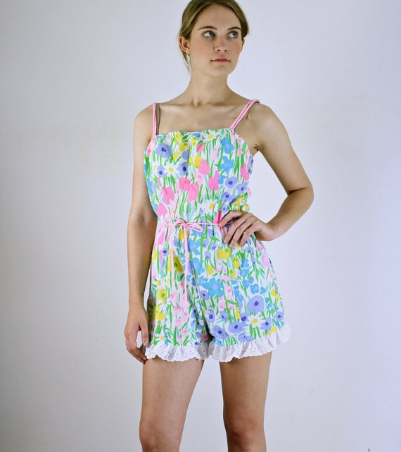 Vintage Romper - Pin Up Playsuit