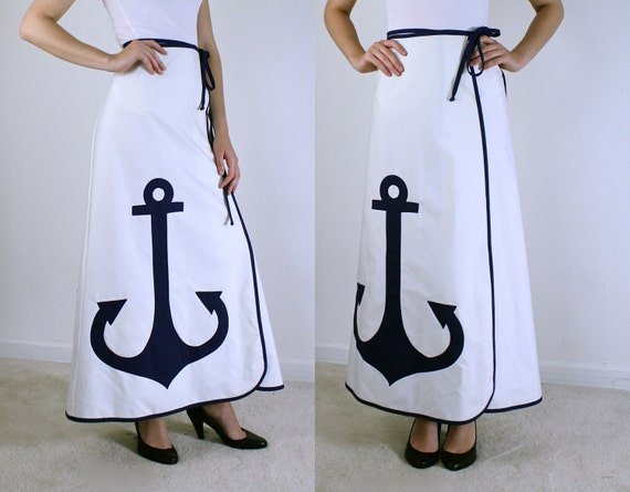 Wrap Skirt - Anchor Skirt