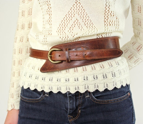 Leather Belt - Oiled Tanned Harness Leather Belt