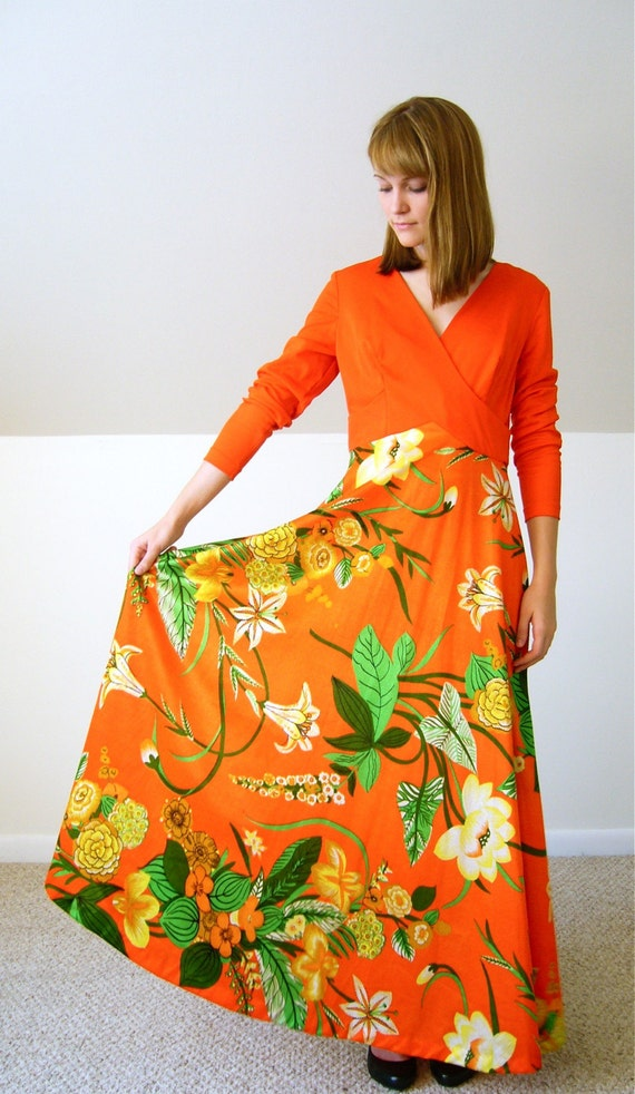 Spring Lily Floral Dress