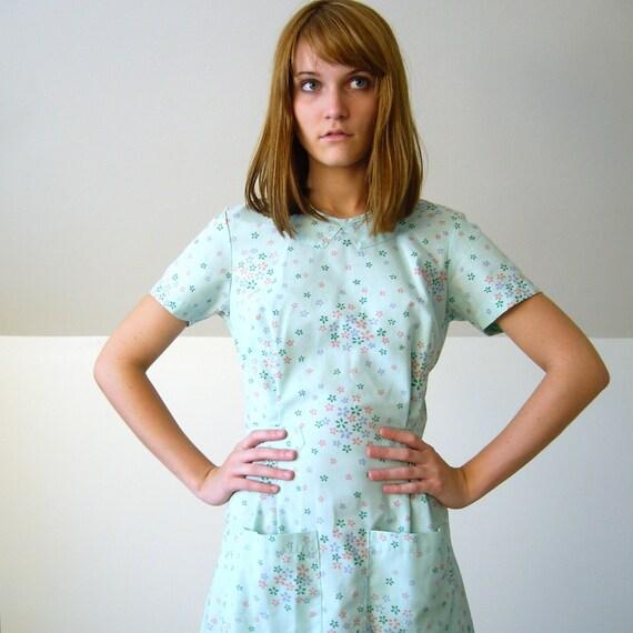 1950 S Seafoam Housewife Dress