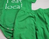 Green Organic Outfit- I eat local
