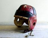 Vintage Child's Hutch Football Helmet