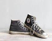 Vintage Converse High Top Sneakers - Mens 7.5  / Womens 9.5