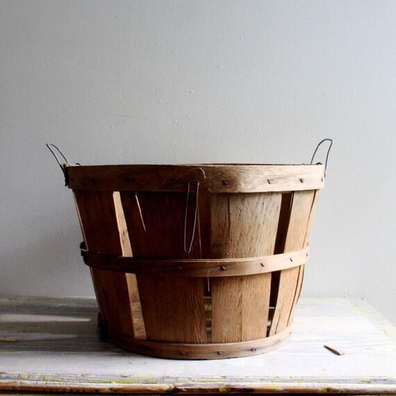 Vintage Orchard Basket