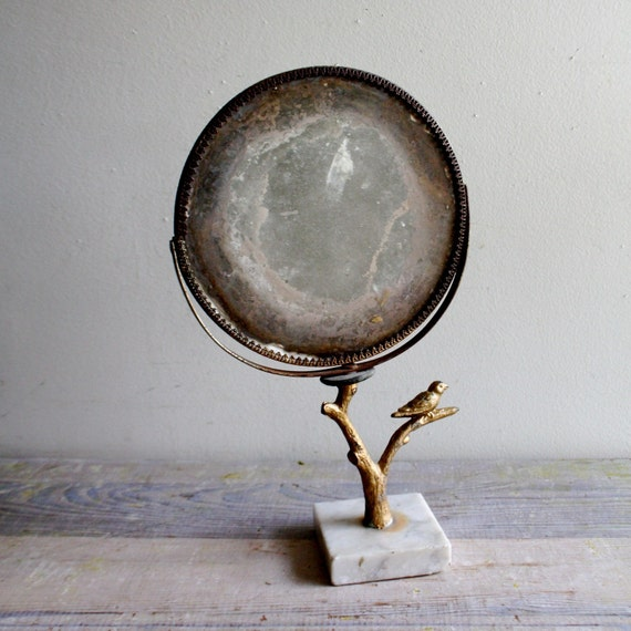 AS SEEN IN LOHAS MAGAZINE Antique Dressing Mirror
