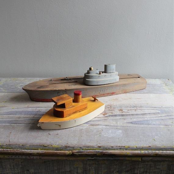 Vintage Model Tug Boat
