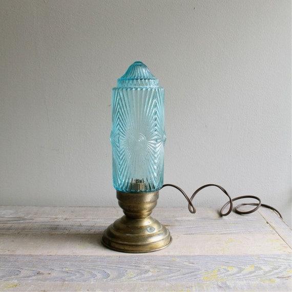 antique industrial deco lamp
