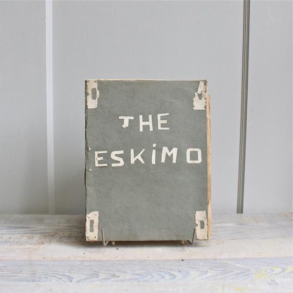 Vintage Eskimo Art Scrapbook - 1930's