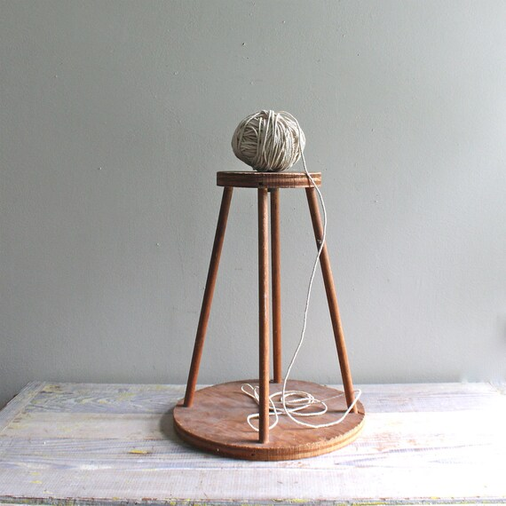 Vintage Wood Display Stand - Cake Stand