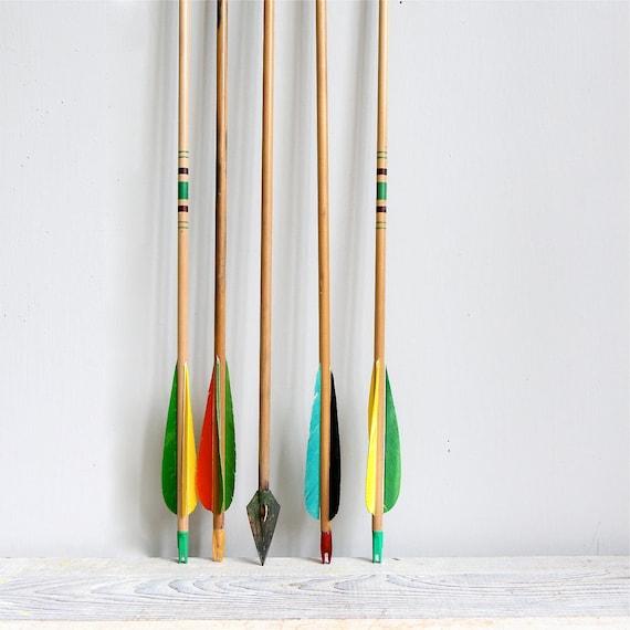 RESERVED  FOR JEN  3 Vintage Wooden Arrows