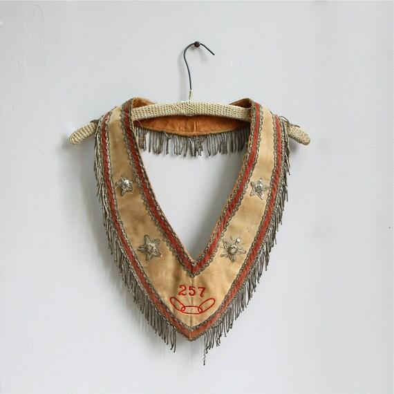 Antique Masonic Ceremonial Collar