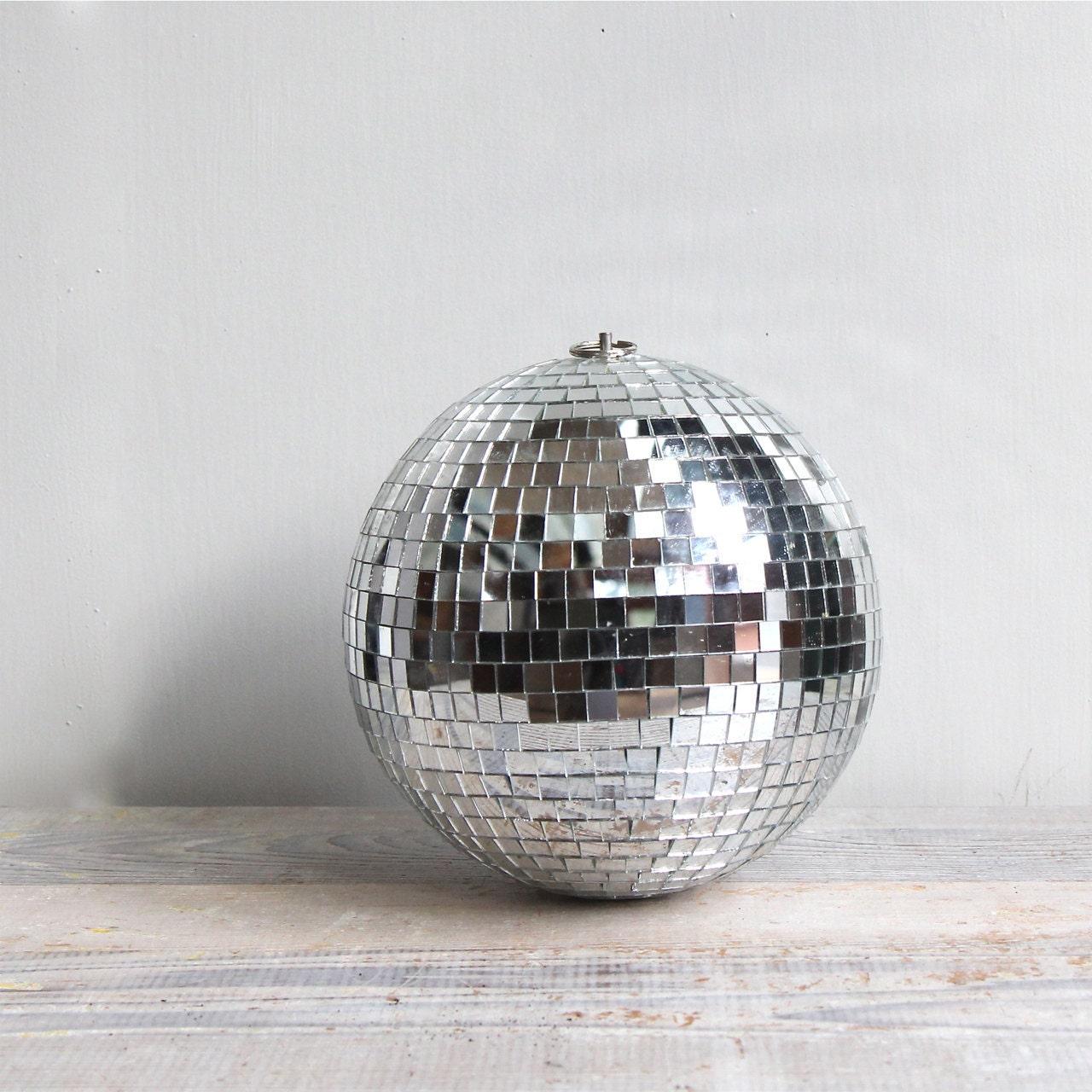 Vintage Disco Mirror Ball