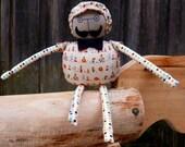 Handmade fabric doll / Sr. Compota