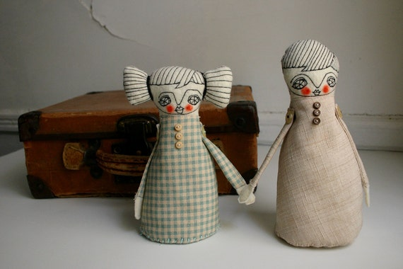 Dolls in Love  -  art dolls