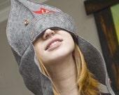 Modern Budenovka hat
