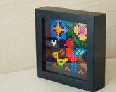 Hama beads folk picture 3