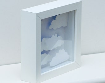 Watching clouds picture