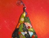 Glass Tree Ornament