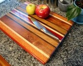 Engraved Butcher Block - Chopping Block - Personalized Wedding Present, Anniversary Gift, Custom Gift - Monogrammed Family Established