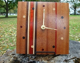 Personalized Engraved Wood Clock - Keepsake - Heirloom