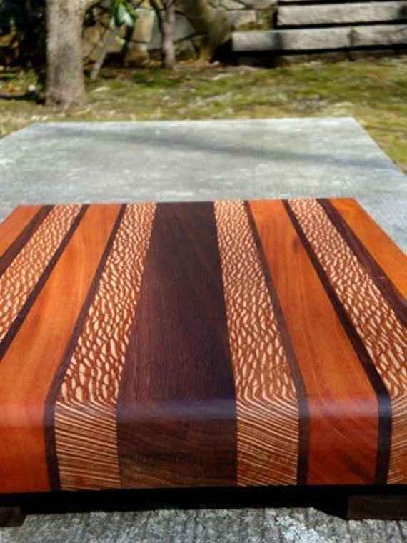 Handmade Large Cutting Board The Mega Black Walnut