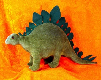 SEWING Pattern to Make a Stegosaurus Dinosaur Stuffed Animal Soft Toy