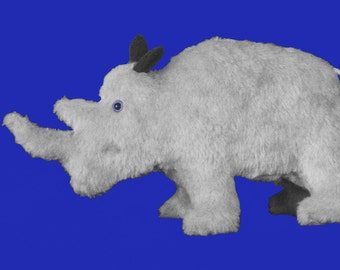 Sewing Pattern to Make a cute Little Rhinoceros Quick and Easy from Fantasy Creations