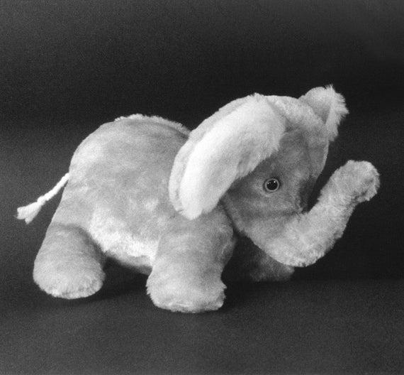 Sewing Pattern Make A Cute Baby Elephant Stuffed Animal Design