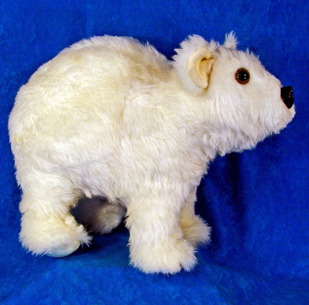 Stuffed Polar Bear Pattern Sewing pattern make a polar bear cub easy ...