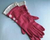 OOAK vintage altered-art redesigned ladies gloves