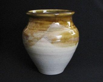 Stylish Cream, Honey Brown Vase