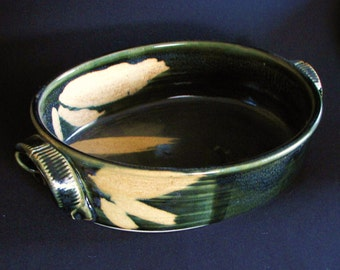 Dark Sage Baking/Serving Dish
