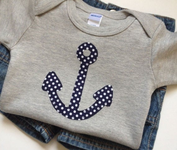 Items similar to Nautical Newborn Baby Boy Clothes ...