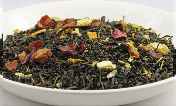 Vanilla Orange Jasmine - Specialty Blend (Green Tea) - 2 oz Bag