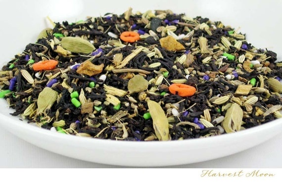 TEA - WINTER SALE - Harvest Moon - (Specialty Black Tea) - 2oz. bag