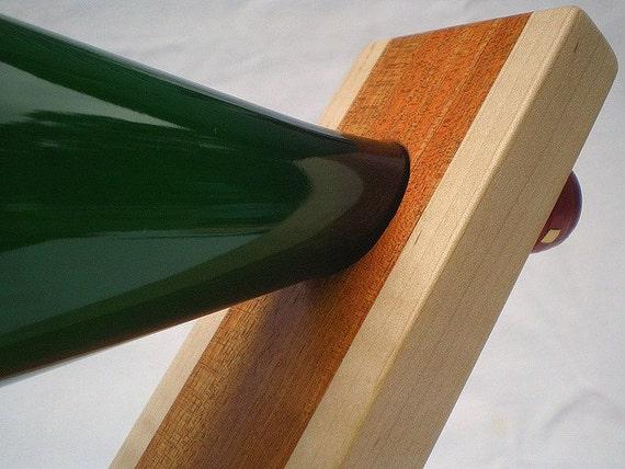 Balancing Wooden Wine Bottle Holder (750 ml)