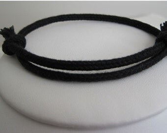 BUYERS SECOND needed: MIdnight Black Wrap Bracelet Cuff -----with PURCHASE of 5.99 or more
