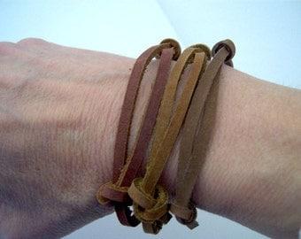 Multicolor Leather Strap SINGLE OR SET