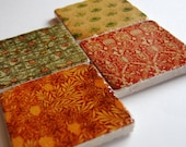 Rich Tapestry stone coaster set of 4