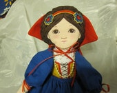 Snow White Fabric Doll