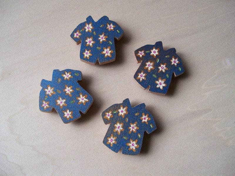 Hawaiian Shirt Magnets