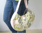 Round Satchel PDF Sewing Pattern and Tutorial